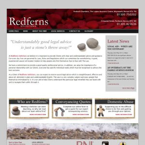 Redferns Solicitors website (business now closed)